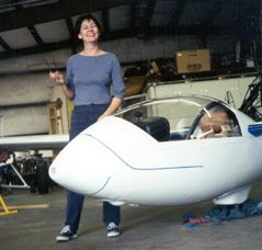 Janaki Lennie masking off the L-33 for its new paint