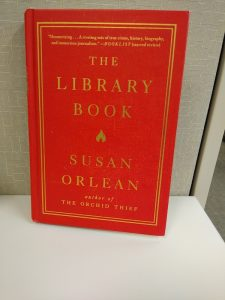 Front cover of THE LIBRARY BOOK by Susan Orlean
